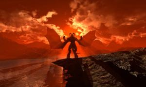 """Satanás, el personaje principal del poema """"Paradise Lost"""". Fuente: Jesse-lee Lang/ Adobe Stock"""