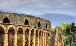 Ruinas de Pompeya, Anfiteatro.