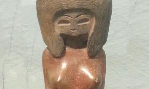 Ejemplo de una figurilla de cerámica típica de Valdivia. (Alicia McDermott)