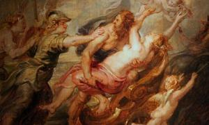 'L'enlèvement de Proserpine' (La violación de Perséfone) (hacia 1636) de Peter Paul Rubens.