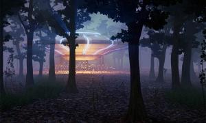 aterrizaje de ovnis en el bosque por la noche: ¡esta es la historia de los avistamientos de ovnis en el bosque de Rendlesham!