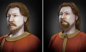 Un artista de reconstrucción facial ha recreado los rostros de dos guerreros eslavos utilizando muestras de ADN.