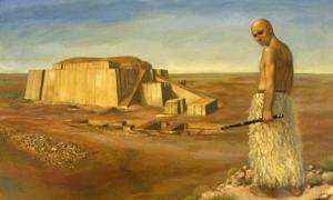 Ur-Shulgi. Al rey Shulgi se le acredita la finalización del Gran zigurat de Ur.