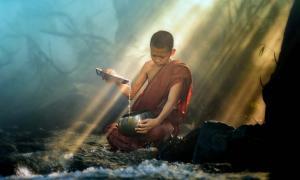 El ritual de muerte del Tíbet es practicado por lamas experimentados, no por monjes novicios.