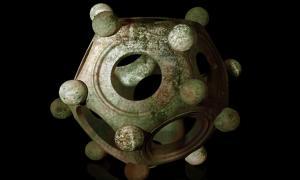 un dodecaedro romano.