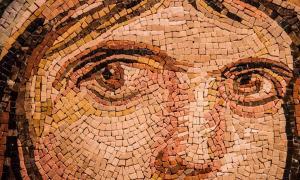 Romano IV Diógenes gobernó hacia el final del Imperio Bizantino. Aquí un mosaico bizantino.
