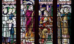 San Dunstan corona al rey Edgar. (Lawrence OP / CC BY NC ND 2.0) Por Ashley Cowie