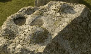 : La rara foto que muestra la ingeniosa ingeniería de Stonehenge. Fuente: English Heritage