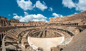 ¿Se utilizó la tecnología romana sofisticada en la construcción del Coliseo romano? De archivo: BigStockPhoto