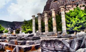 Templo de Atenea en Priene. Fuente: Yilmaz Oevuenc / CC BY-SA 2.0
