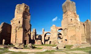 Las Termas de Caracalla en Roma