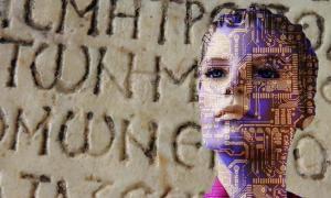 AI (Pixabay License) está descifrando textos griegos antiguos (Pixabay License) más rápido que los humanos.