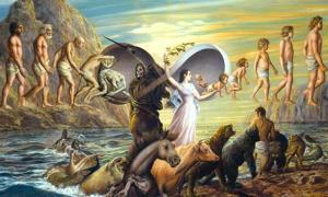 Imágenes que representan la inmortalidad. Guerrero gnóstico