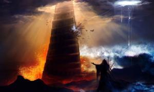¿La mitología que rodea a la Torre de Babel está relacionada de alguna manera con la de la Gran Pirámide de Cholula en México?