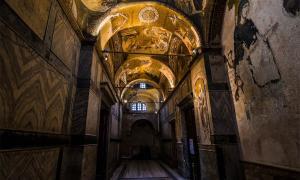 Iglesia del Santo Salvador en Chora. Crédito: Yordan Rusev / Adobe Stock