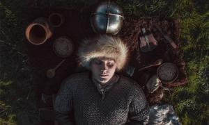 Un entierro vikingo.