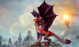 El legendario dragón galés. Crédito: warpaintcobra/ Adobe Stock Autor Wu Mingren