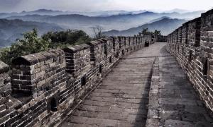 El muro es parte del proyecto de construcción más grande del mundo que abarcó miles de millas y 1000 años. Fuente: siew sin audrey sim/EyeEm/ EyeEm / Adobe Stock