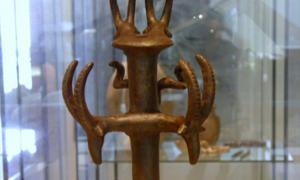 cetro de bronce del Nahal Mishmar. Fuente: Poliocretes / CC BY-SA 3.0.