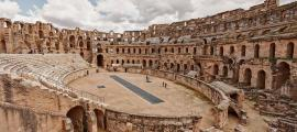 El Anfiteatro de El Djem