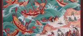 Imagen destacada: La primera invasión mongola de Japón.