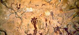Portada - Pintura rupestre de Wadi Sura, Egipto. (Fotografía: La Gran Época/TARA)