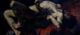 Portada-El castigo de Ixión. La condena de Ixión consistía en permanecer eternamente atado a una rueda solar ardiente por haber asesinado a su suegro. En la leyenda esto le convirtió en el primer culpable de la muerte de uno de sus parientes cercanos de la mitología griega. Public Domain
