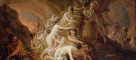 Portada - 'El castigo de las Danaides' (1785), óleo de Martin Johann Schmidt. (Public Domain)