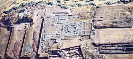 Portada - Panorámica aérea general de la Fortaleza de Sacsayhuamán. (Fotografía: Código Oculto)