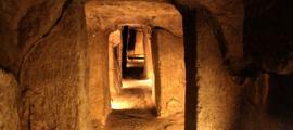 Portada - Uno de los pasadizos de Nushabad. Fotografía: Agencia de viajes Friendly Iran
