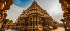 Portada - Fotografía del templo de Kailasanathar de Kanchipuram. (CC BY-NC-ND 2.0)