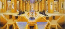 Imagen de portada: Esta ilustración, realizada en 1998 por el pintor veronés Davide Tonato, es una interpretación de los atributos tradicionales de Maat, la Diosa Egipcia de la justicia.