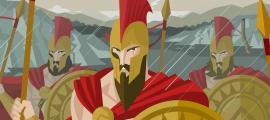 El Rey Leonidas de Esparta y la batalla de las Termópilas