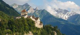 Castillo de Vaduz en la capital de Liechtenstein. Fuente: lic0001/ Adobe Stock