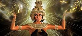 Diosa egipcia antigua. Crédito: tk0920 / Adobe Stock