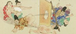 detalle de la voluta de Hegassen. Batalla de pedos, 1864 (dominio público)