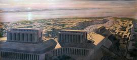 Reconstrucción artística de mesopotamia. Fuente de la foto: Marcahuasi Project