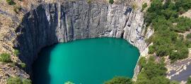 El gran hoyo, Kimberley, Sudáfrica.