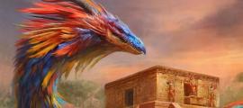 Quetzalcóatl, detalle. Fuente: Manzanedo / Deviant Art