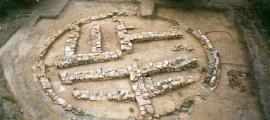 El sitio de excavación de Ras Al Khaimah donde se encontraron los restos antiguos. Fuente: Ras Al Khaimah Government Media Office