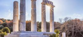 Templo de Samotracia, Grecia