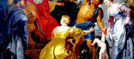 El rey Salomón es famoso por su sabiduría en la historia de El juicio de Salomón. Fuente: Dcastor / CC BY-SA 3.0.