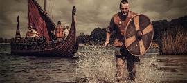 Representación de vikingos en América del Sur. Fuente: Nejron Photo / Adobe stock
