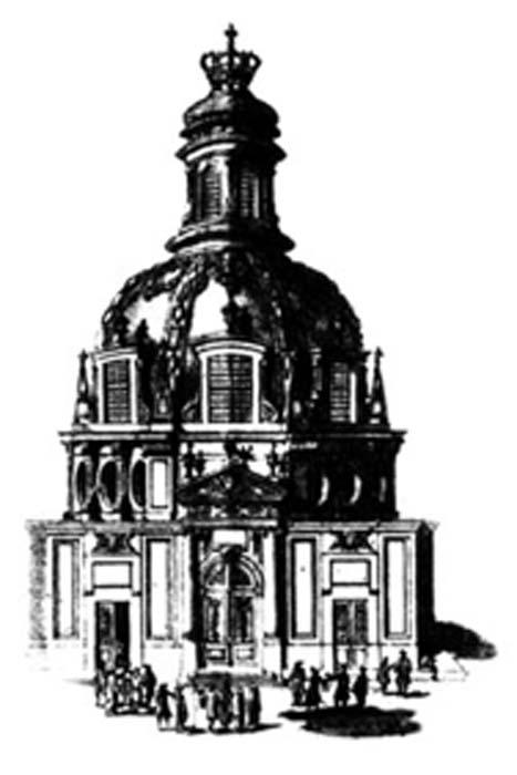 Teatro anatómico de la Academia de Cirugía de París en 1694. (Dominio público)