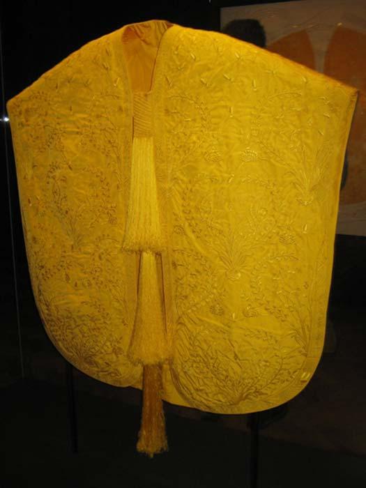 La capa dorada de seda de araña. (¿Es arte?)