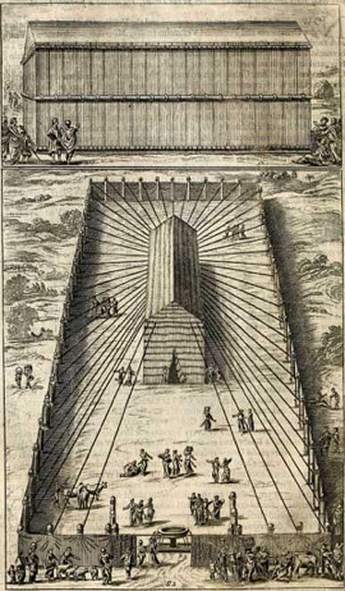 El tabernáculo original era una tienda erigida por Moisés. (Fæ / Dominio público)