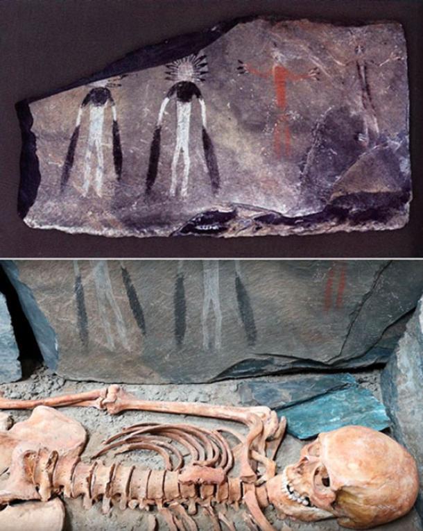 Estas magníficas pinturas fueron encontradas en las montañas de Altai. Imágenes: Vladimir Kubarev / IAET SB RAS, Los tiempos de Siberia