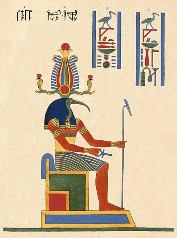 Thoth. (Museo de Brooklyn)