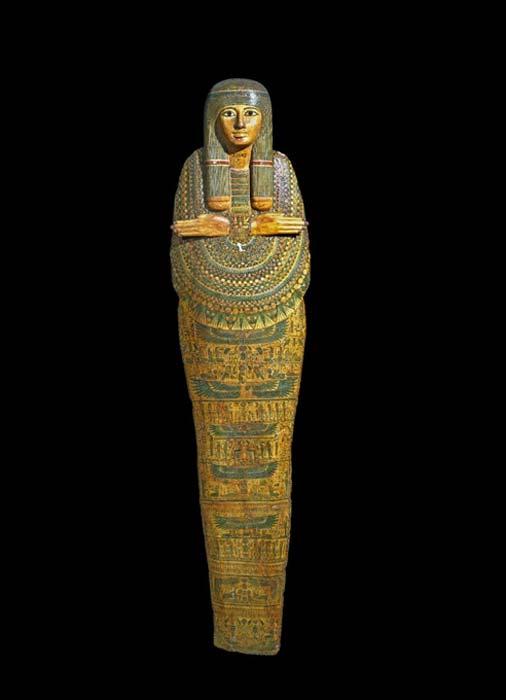 """La """"momia desafortunada"""". (Fideicomisarios del Museo Británico / CC BY NC SA 4.0)"""