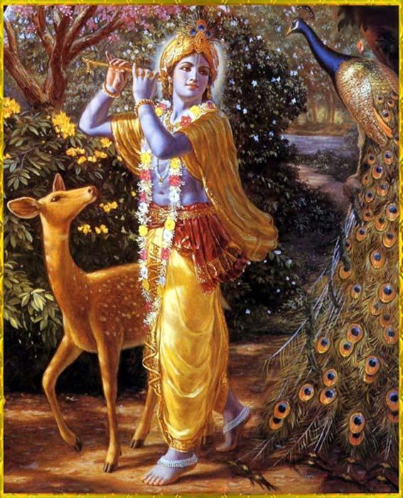 La mitología hindú dice que el dios Krishna descubrió la primera perla. (Virumandi1 / CC BY-SA 4.0)